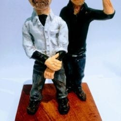 """""""The Mythbusters"""" sculpture"""