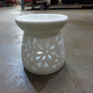 Pot-pourie flower burner