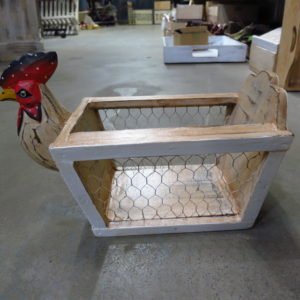 Rooster egg holder