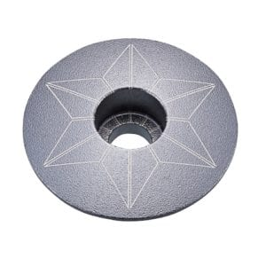 SUPACAZ Star Capz – GunMetal (anodized)
