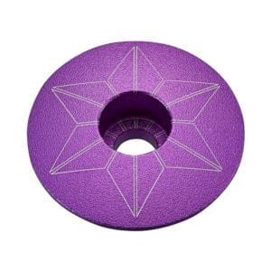 SUPACAZ Star Capz – Purple (anodized)