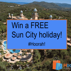 Win a FREE Sun City holiday!