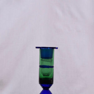 Green & Blue Candle Holder
