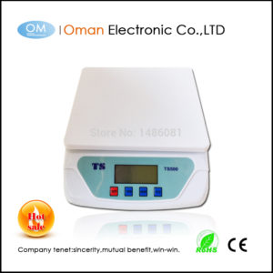 25kg / 1g Food weighing scales electronic scales platform Scales parcel scales