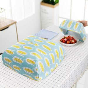 Foldable Food Covers Keep Warm Hot Aluminum Foil Cover Dishes Insulation Utilidades Kitchen Table Accessories Tools