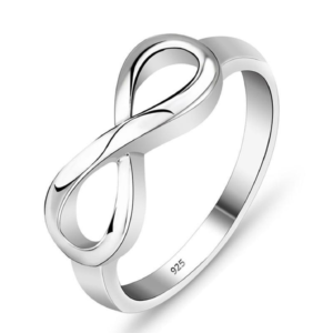 Infinity Ring (Sterling Silver)
