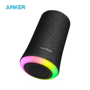 Anker Soundcore Flare Portable Bluetooth 360′ Speaker with All-Round Sound Enhanced Bass Ambient LED Light IPX7 Waterproof