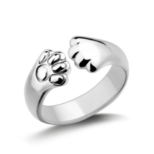 Paw Ring (Sterling Silver)