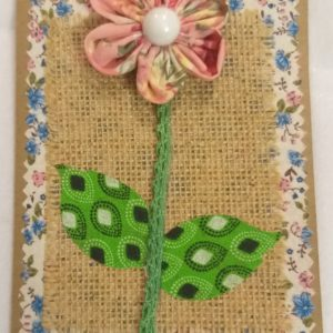 Greeting Card A6 – Flower
