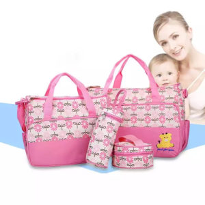 Mommy and baby bag set