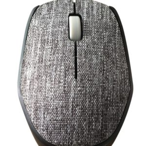 Ultra Link Fabric Optical Wireless Mouse – Grey